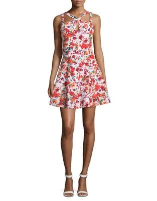 Floral Sleeveless Dress by Guess