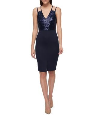 Double Strap Sheath Dress by Guess