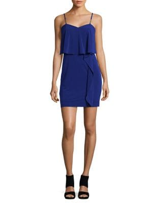Ruffle Popover Sleeveless Dress by Guess