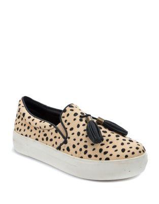 Fitz Faux Leopard Suede Sneakers by Latigo