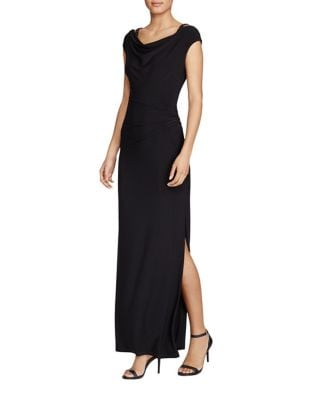 Beaded Strap Jersey Gown by Lauren Ralph Lauren