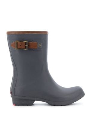 City Matte Rubber Mid-Calf Rain Boots by Chooka