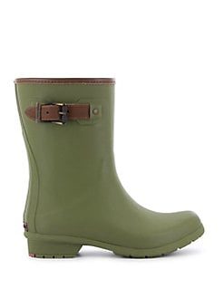 Olive Green Chooka City Rain Boots