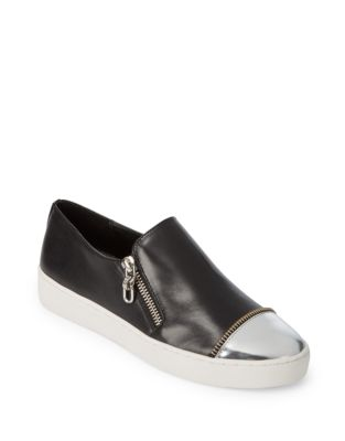 Grayson Slip-On Leather Sneakers 500087237975