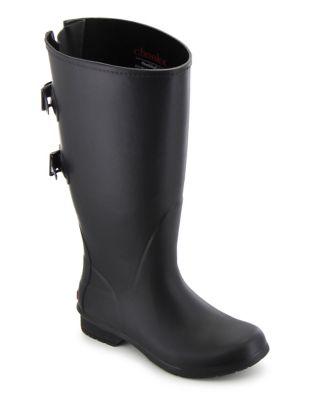 Versa Wide Calf Rubber Tall Rain Boots by Chooka