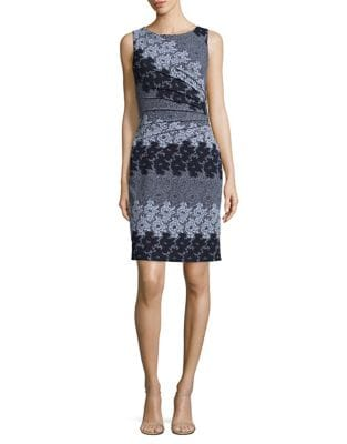 Embroidered Floral Spring Dress by Ivanka Trump