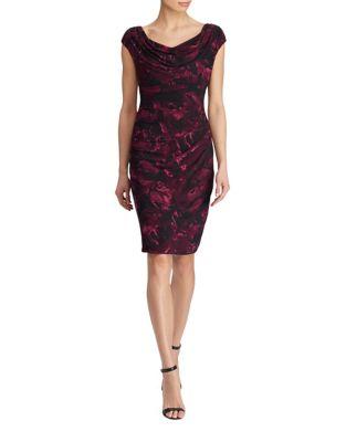 Printed Jersey Dress by Lauren Ralph Lauren
