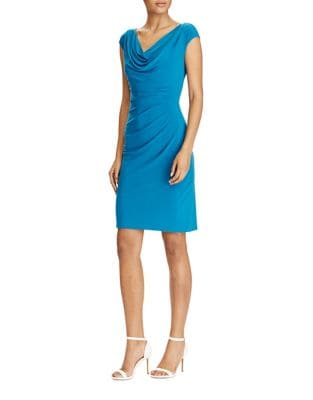 Cowlneck Jersey Dress by Lauren Ralph Lauren