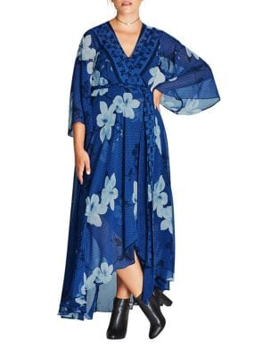 Photo of City Chic Plus High-Low Robe