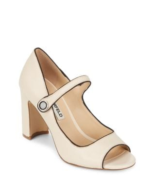 Enda Peep Toe Pump by Karl Lagerfeld Paris