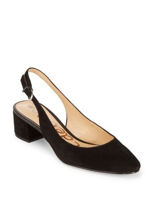 Lorene Point Toe Slingback Pumps by Sam Edelman