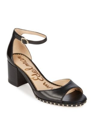 Studded Susie Leather Sandals by Sam Edelman