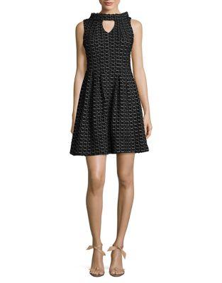 Neckline Cutout Dress by Taylor