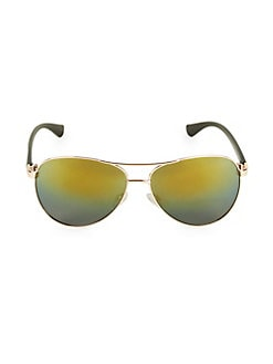 86e9176c9 Product image. QUICK VIEW. Vince Camuto. 57MM Rounded Aviator Sunglasses