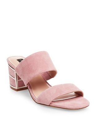 Siggy Suede Sandals by Steven by Steve Madden