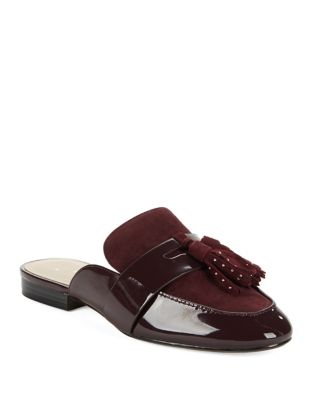 Galvin Leather Mules by 424 Fifth