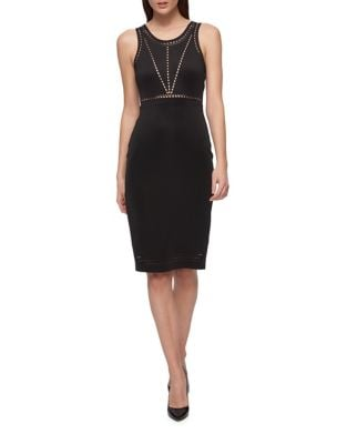 Classic Sleeveless Sheath Dress by Guess