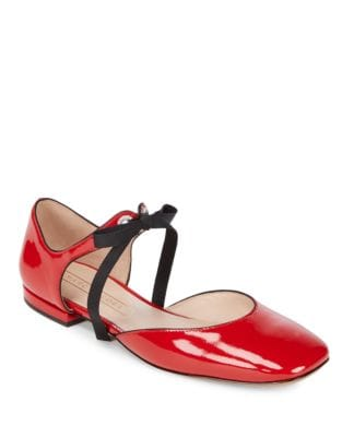 Alyssa Leather Mary Jane Ballerina Flats by Marc Jacobs