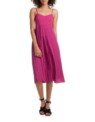 Vereda Pleated Dress by Trina Turk