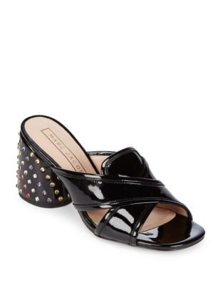 Aurora Patent Leather Mules by Marc Jacobs