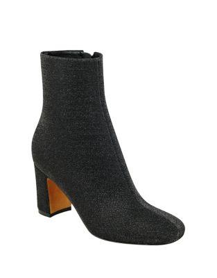 Grazi2 Textile Block Heel Bootie by Marc Fisher LTD
