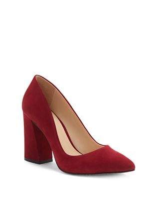 Talise Nubuck Pumps by Vince Camuto