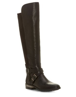 Paton Leather Knee-High Boots by Vince Camuto