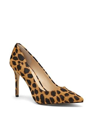 Savilla Sole Calf Hair Pumps by Vince Camuto