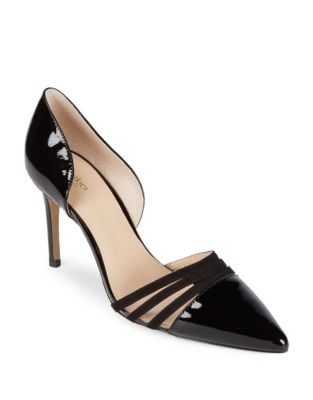 Image of Karina Leather D'Orsay Pumps