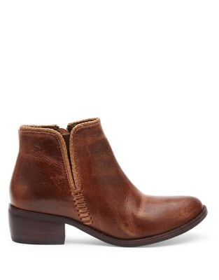 Merge Leather Booties by Matisse
