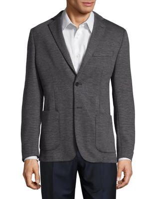 Slim-Fit Heathered Sportcoat...