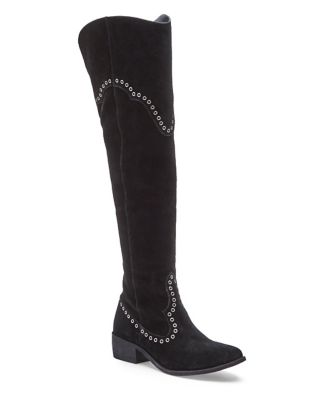 Skyline Over-The-Knee Suede Boots by Matisse