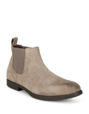 Suede Chelsea Boots @...