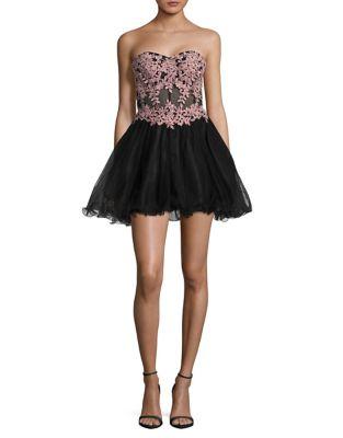 Short Prom Dress by Blondie Nites