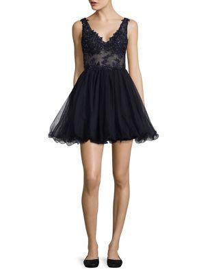 A-Line Dress by Blondie Nites