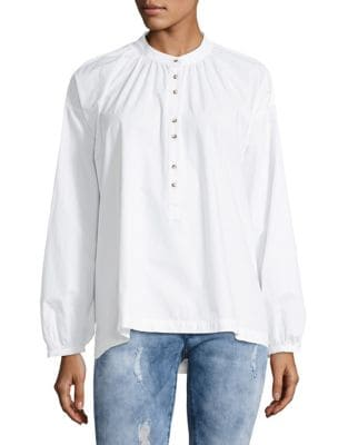 Free People  HEY BABY COTTON TOP