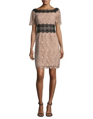 Off-the-Shoulder Lace Dress by Nue By Shani