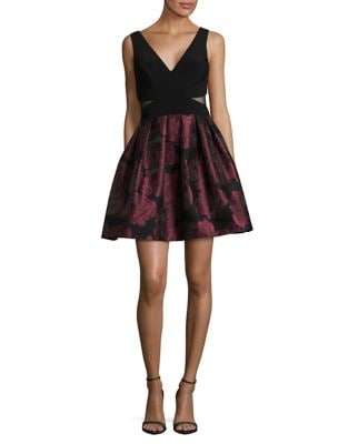 Sleeveless Fit-&-Flare Dress by Xscape