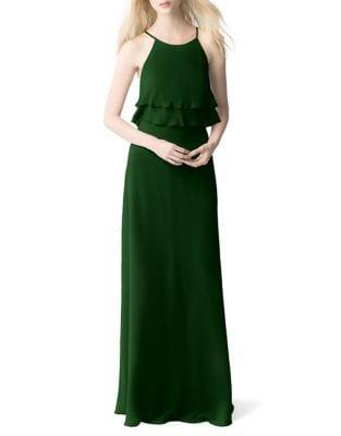 Charlie Crisscross Floor-Length Dress by Jenny Yoo