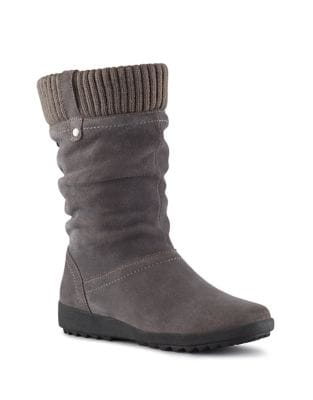 Vienna Waterproof Suede Mid-Calf Boots by Cougar