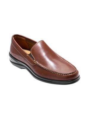 Moc Toe Leather Leather...