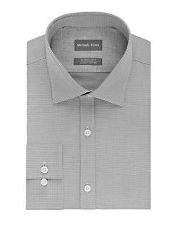 d3909b270daf Product image. QUICK VIEW. Michael Kors. Regular Fit Airsoft Cotton Dress  Shirt