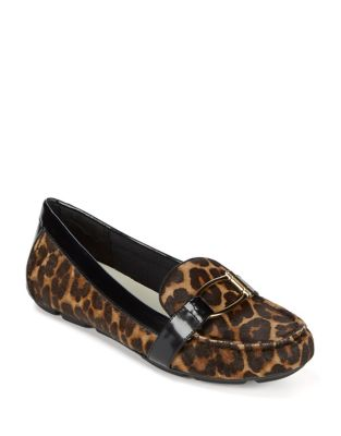 Petra Casual Tailored Calf Hair Drivers by Anne Klein