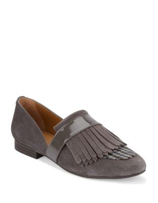Harlow Suede Loafers by G.H. Bass