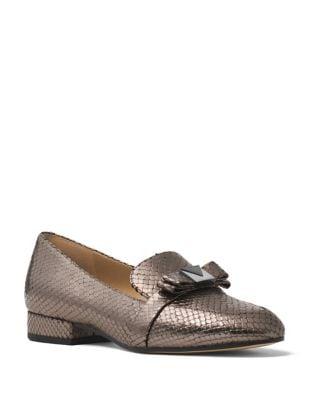 Caroline Metallic Loafers by MICHAEL MICHAEL KORS