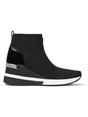 Skyler Soft Knit High-Top Sneakers by MICHAEL MICHAEL KORS