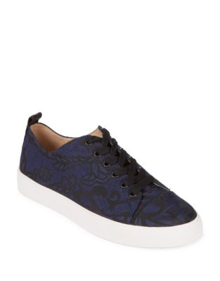 Evron Intarsia Lace Sneakers by Karl Lagerfeld Paris