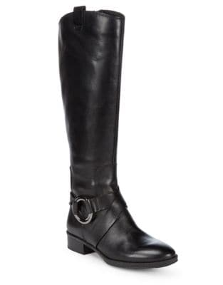 Muret Leather Boots by Karl Lagerfeld Paris