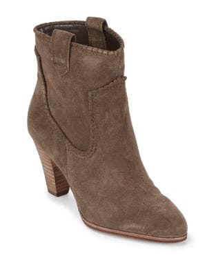 Provence Suede Booties by Karl Lagerfeld Paris