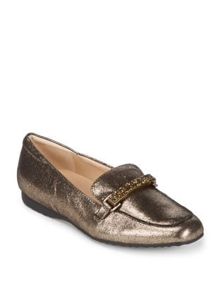Quigley Leather Bit Loafers by Karl Lagerfeld Paris